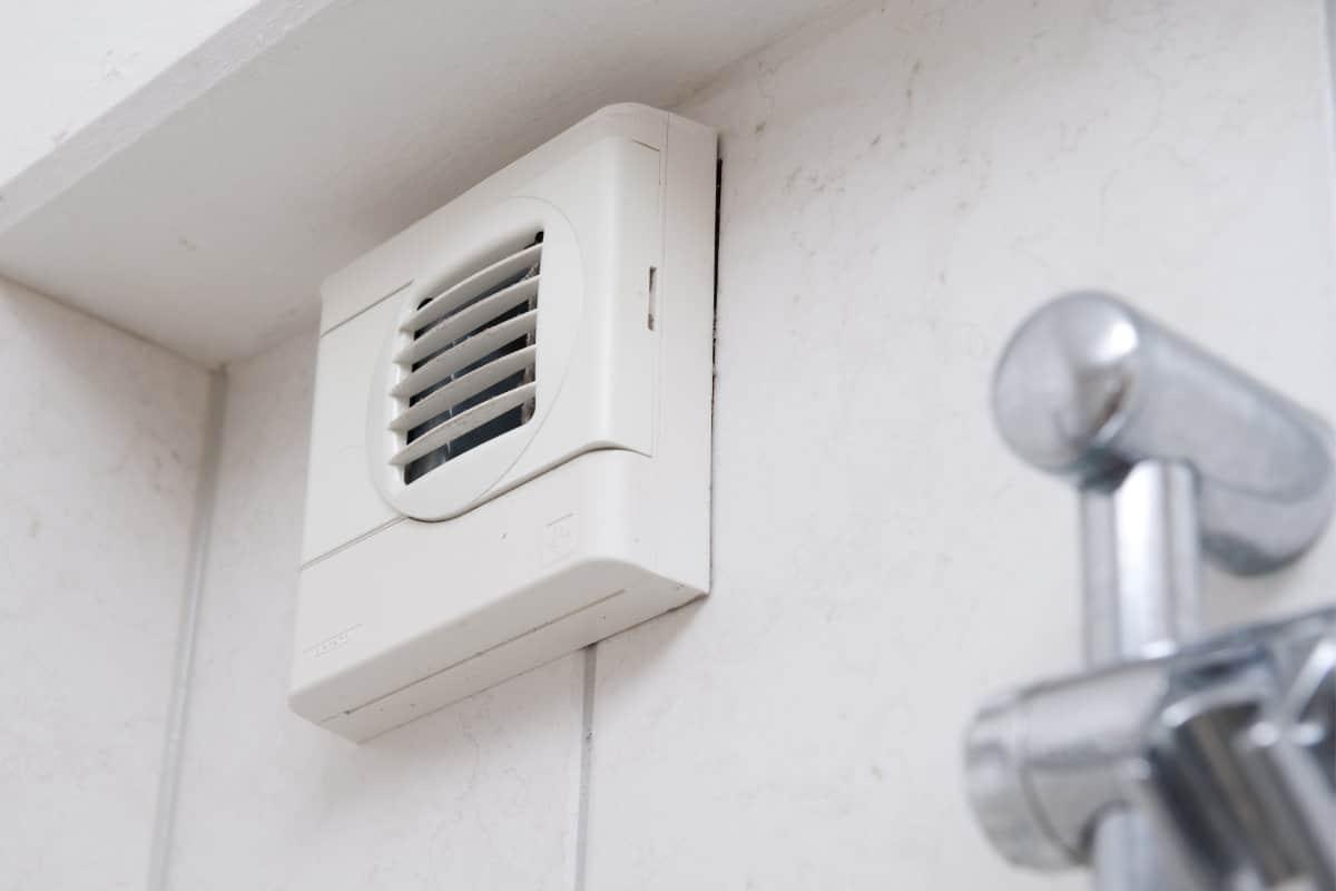 condensatievocht ventileren