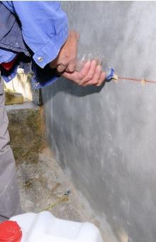 kelders waterdicht maken