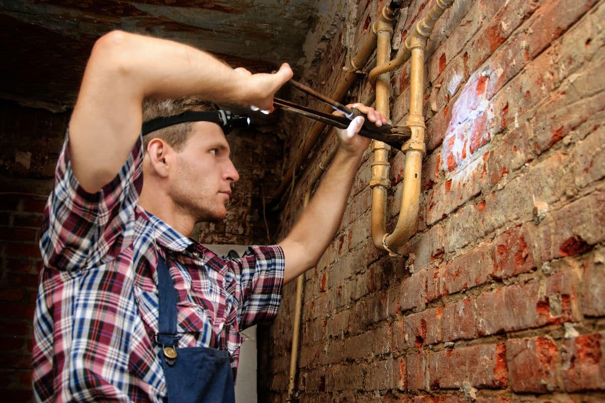 Vochtplek plafond herstellen
